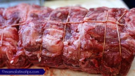 Beef Wellington Tied