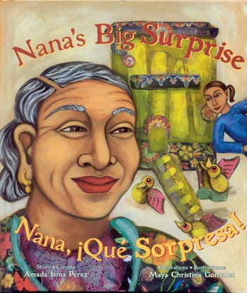 Nana's Big Surprise by Amada Irma Pérez - mamalatinatips.com