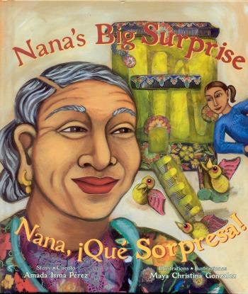 Nana's Big Surprise by Amada Irma Pérez - mamalatinatips.com