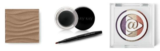 Mary Kay eye shadows, eye liner and bronzer