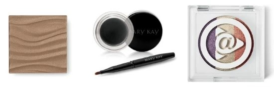 Mary Kay eye shadows, eye liner and bronzer