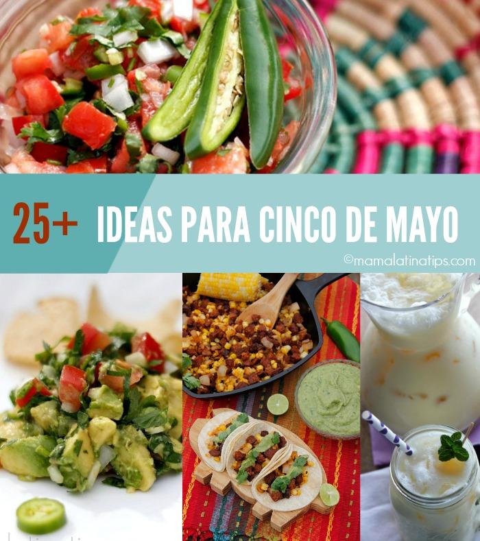 Comida para celebrar el cinco de mayo