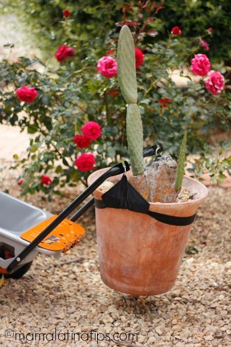 Worx Tools Aerocart lifting pot