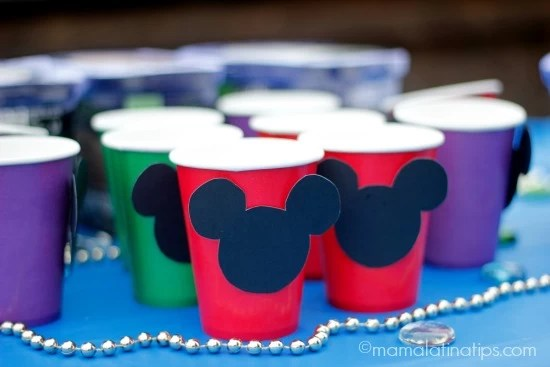 Mickey cups for ice cream
