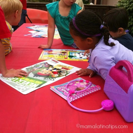 Disney Junior Party Kids Activities