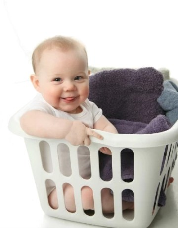 Take the Pledge to Protect Babies in the Laundry Room During National Baby Safety Month