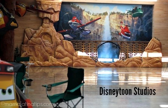 Disneytoon Studios during Planes: Fire & Rescue