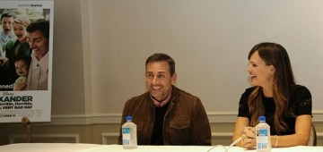 Interview with Steve Carell and Jennifer Garner #VeryBadDay