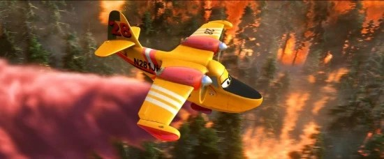 Dipper from Planes: Fire and Rescue