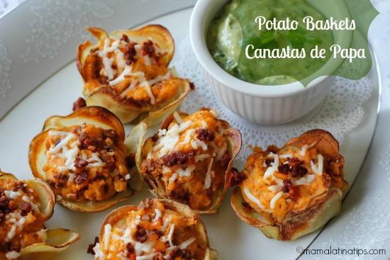 Potato Baskets / Canastas de papas
