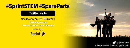 #Spareparts #SprintSTEM twitter party
