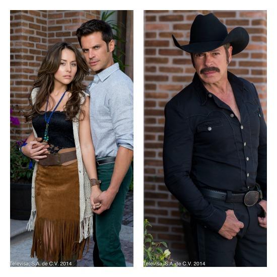 Personajes de la telenovela Que Te Perdone Dios