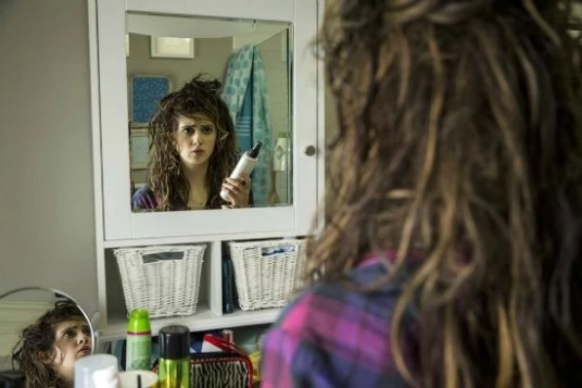 Laura Marano as Monica on the Disney movie Bad Hair Day