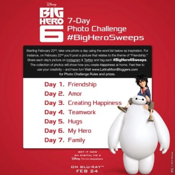 Keep Smiling with Big Hero 6 – Giveaway