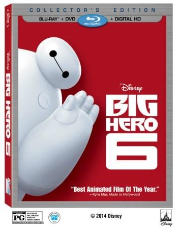Big Hero 6 Blu-ray Combo Pack
