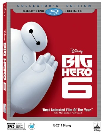 Big Hero 6 Blu-ray Combo Pack