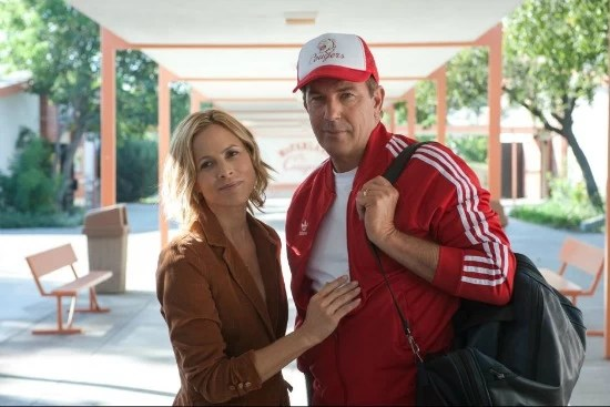 Kevin Coster and Maria Bello in Disney McFaraland USA movie
