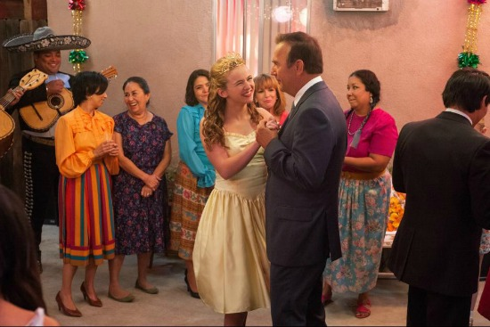 Scene of Disney's McFarland USA with Kevin Costner