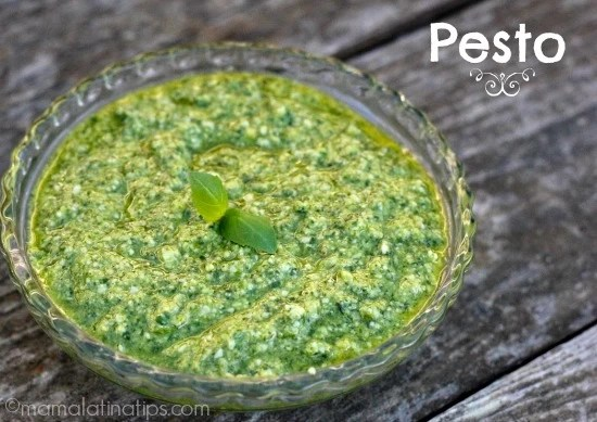 Basil Pesto by MamaLatinaTips.com