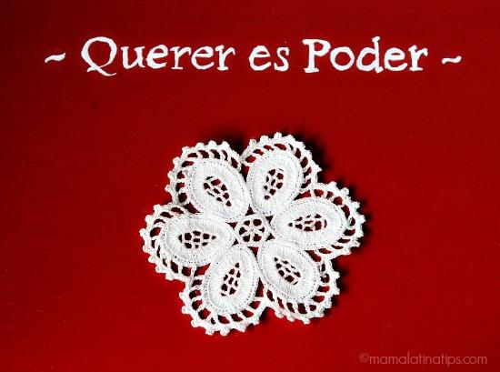 Querer es Poder by mamalatinatips.com