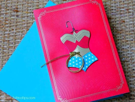 Hallmark card Superwoman by mamalatinatips.com