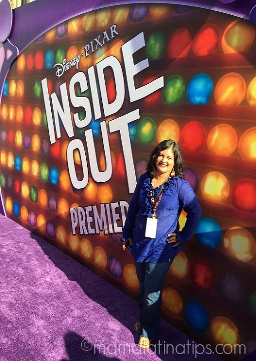 Silvia Martinez at Disney/Pixar Inside Out World Premier