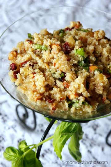 Sweet and Sour Quinoa Salad