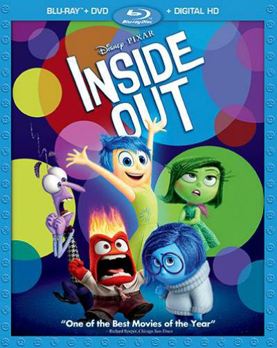 Inside Out Blu-ray/DVD combo pack - November 3rd