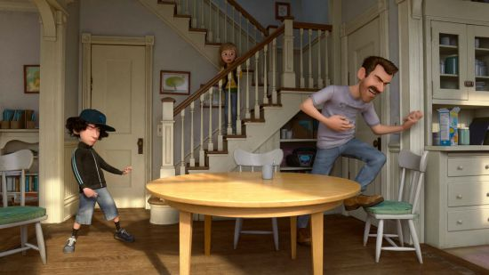 Inside Out Scene, Riley, Dad and Date