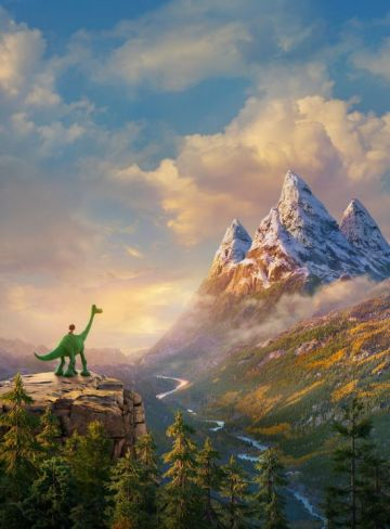 Researching The Good Dinosaur in Nature