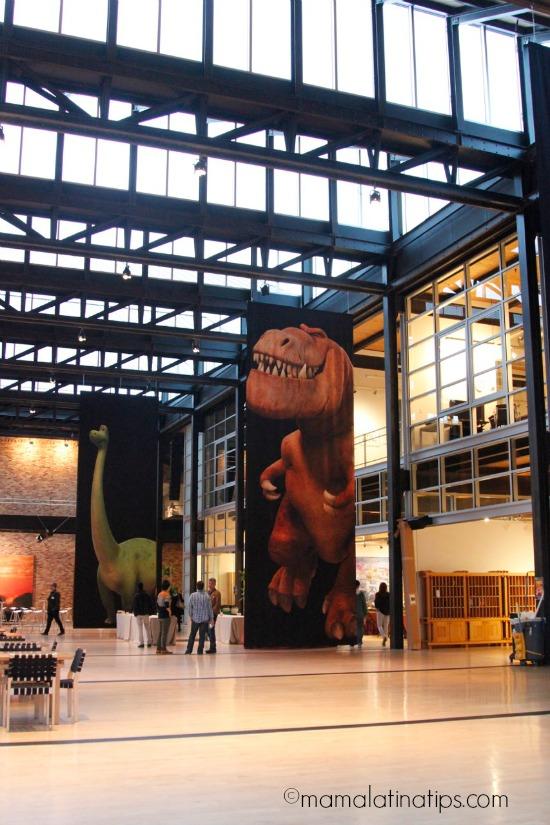 Atrium at Steve Jobs building at Pixar