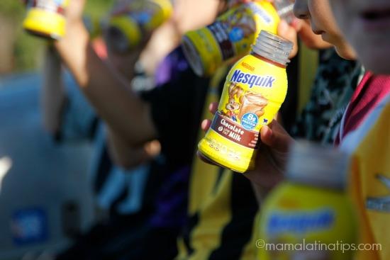 kids drinking nesquik mamalatinatips