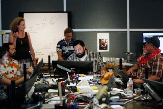 The Good Dinosaur creative team - mamalatinatips.com