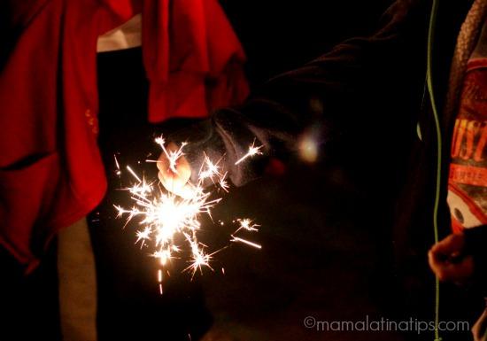 Luces de bengala - mamalatinatips.com