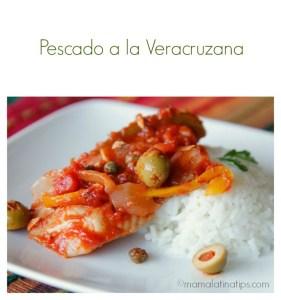 Pescado a la Veracruzana - mamalatinatips.com