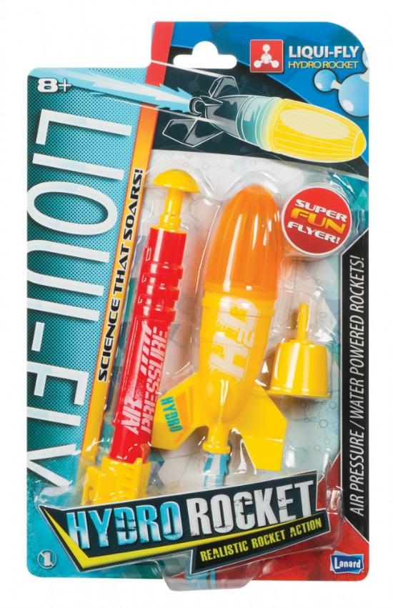 Actividades y Juegos sobre el Espacio Exterior para Niños. Hydro rocket toy for kids