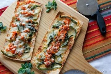 Chile Relleno Pizza The Perfect Cinco De Mayo Appetizer