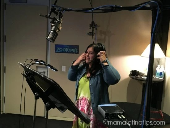 Voicing Fru Fru From Zootopia