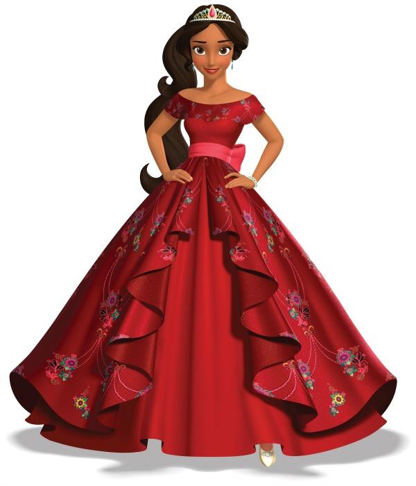 Vestido de gala de Elena of Avalor - mamalatinatips.com