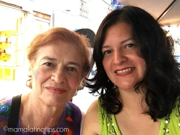 Silvia y mamá - mamalatinatips.com