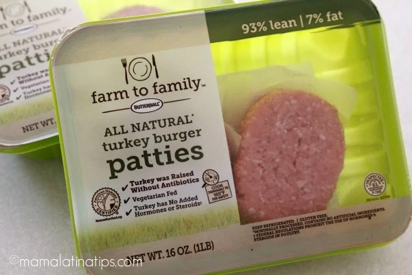 Farm to Family Butterball® turkey meat - mamalatinatips.com