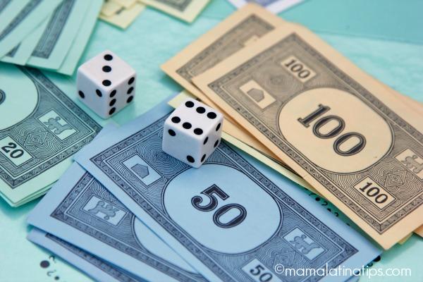 Juegos para enseñar a los niños el manejo del dinero - mamalatinatips.com
