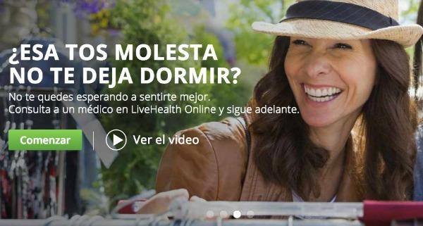 Servicio de livehealth online en español - mamalatinatips.com