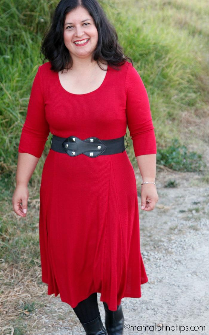 Vestido rojo - mamalatinatips.com