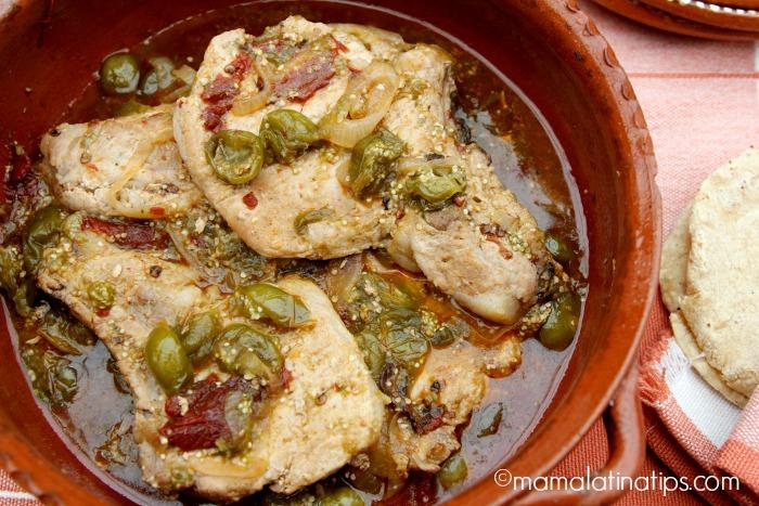 Chuletas de Cerdo Entomatadas - mamalatinatips.com