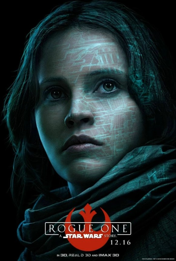 Jyn Arso, Rogue One: A Star Wars Story - mamalatinatips.com