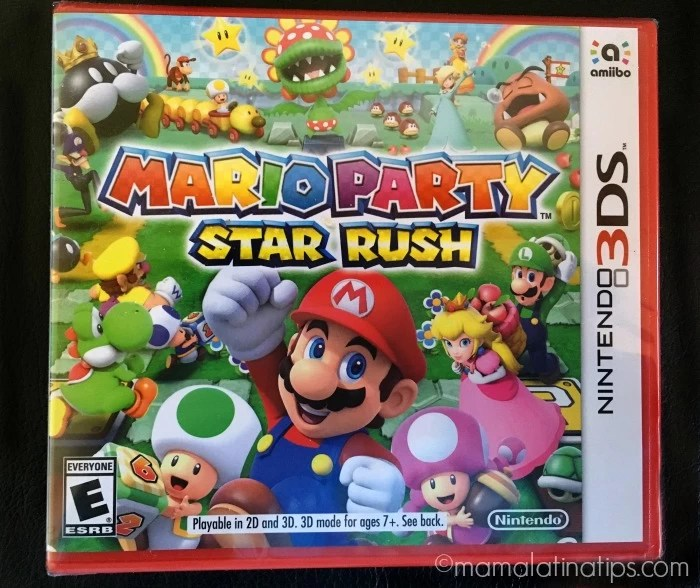 Mario Party Star Rush - mamalatinatips.com