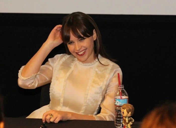 An Interview with Felicity Jones from Rogue One: A Star Wars Story #RogueOneEvent