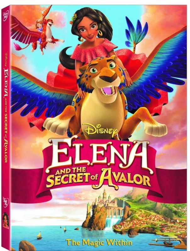 Elena and the Secret of Avalor - DVD giveaway - mamalatinatips.com