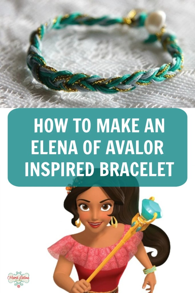 graphic with Elena of Avalor and a bracelet